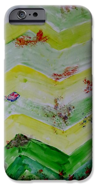 Zoological Paintings iPhone Cases - Emergence of Life iPhone Case by Sonali Gangane