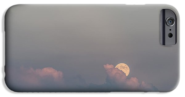 Moonscape iPhone Cases - Emergence iPhone Case by Sandra Bronstein
