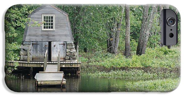 Concord Massachusetts iPhone Cases - Emerson Boathouse Concord Massachusetts iPhone Case by Amy Porter