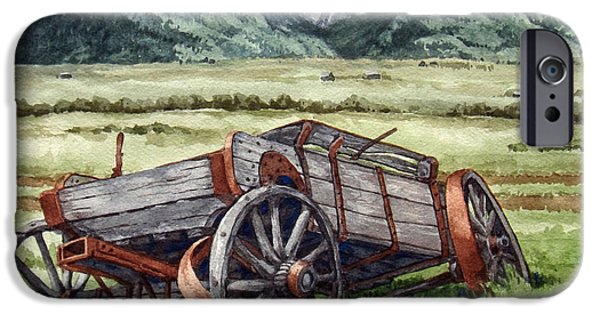 Rustic Ceramics iPhone Cases - Emigrant Pass iPhone Case by Dan Krapf