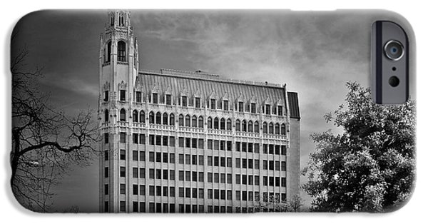 Historic Buildings iPhone Cases - Emily Morgan Hotel San Antonio TX iPhone Case by Christine Till
