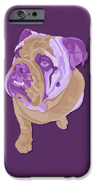 Recently Sold -  - Abstract Digital Art iPhone Cases - Emma iPhone Case by John Berndt