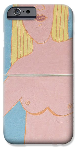 Scene Sculptures iPhone Cases - Emotion Has Taken Her Heart  iPhone Case by Art Mantia