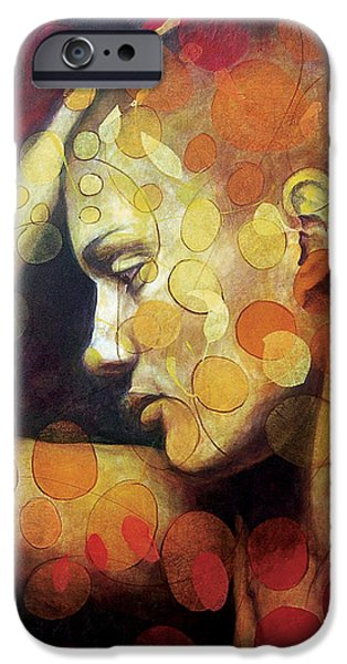 Emotions iPhone Case by Karina Llergo Salto