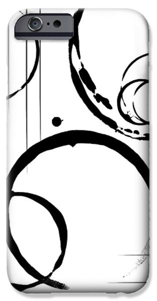 Abstract Digital Mixed Media iPhone Cases - Empathy iPhone Case by Melissa Smith