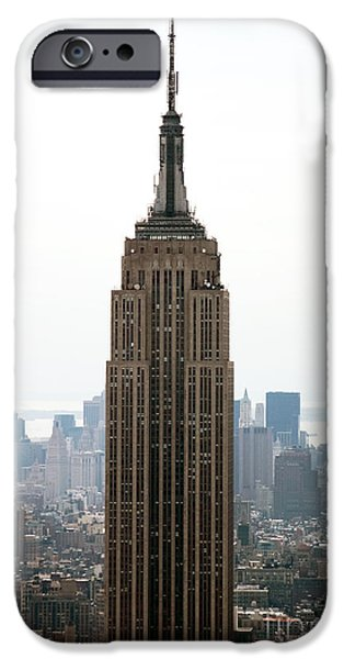 Empire State iPhone Cases - Empire iPhone Case by John Rizzuto