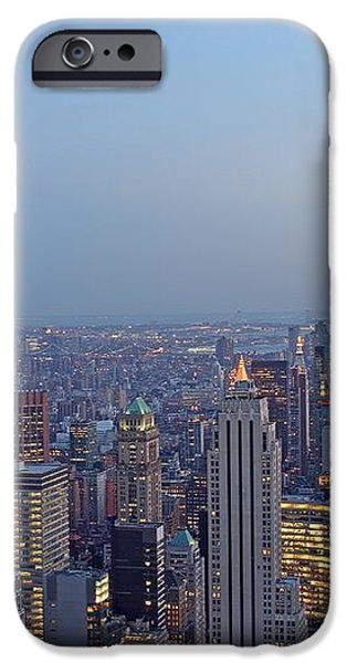 Empire State Building In Midtown Manhattan iPhone Case by Juergen Roth