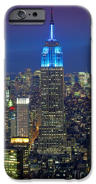 Empire State iPhone Cases - Empire State Building iPhone Case by Inge Johnsson