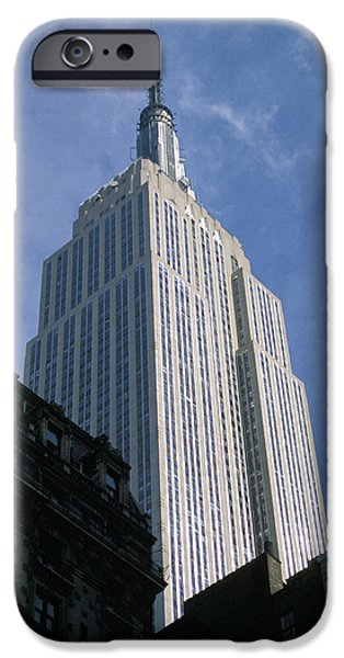 Empire State iPhone Cases - Empire State Building iPhone Case by Jon Neidert