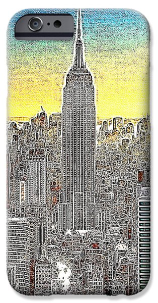 Empire State Building New York City 20130425 iPhone Case by Wingsdomain Art and Photography