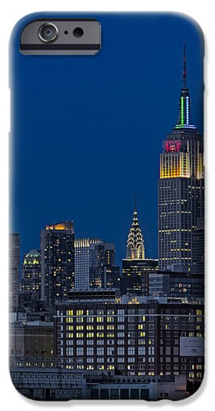 Hudson River iPhone Cases - Empire State iPhone Case by Susan Candelario