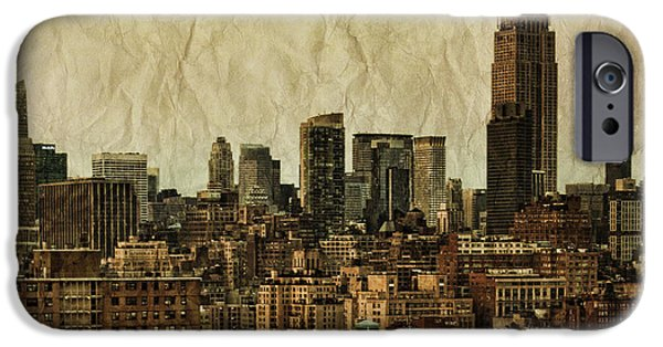New York City iPhone Cases - Empire Stories iPhone Case by Andrew Paranavitana