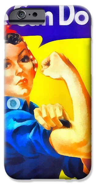 Revolution Mixed Media iPhone Cases - Empowerment iPhone Case by Dan Sproul