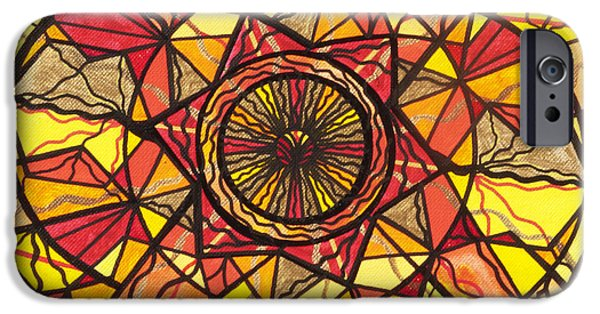 Healing Paintings iPhone Cases - Empowerment iPhone Case by Teal Eye  Print Store