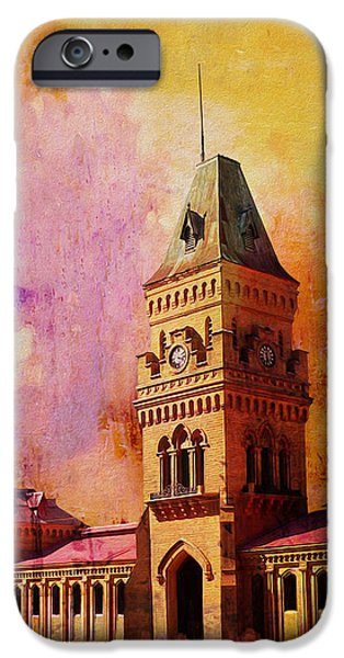 Empress Market iPhone Case by Catf