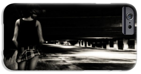 Seductive Photographs iPhone Cases - Empty Spaces iPhone Case by Bob Orsillo