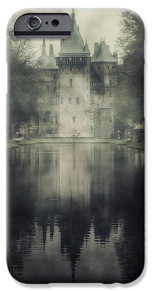 Bleak iPhone Cases - Enchanted Castle iPhone Case by Joana Kruse