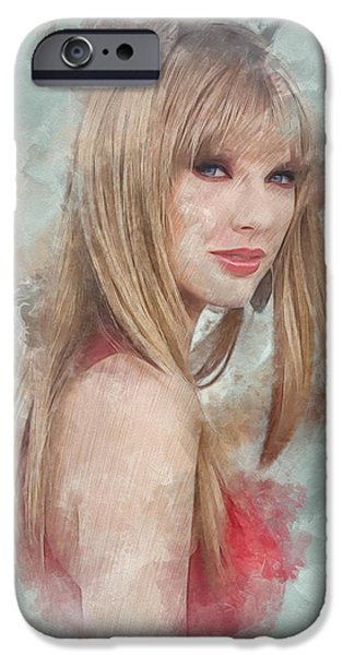 Taylor Swift iPhone Cases - Enchanted iPhone Case by Marina Likholat