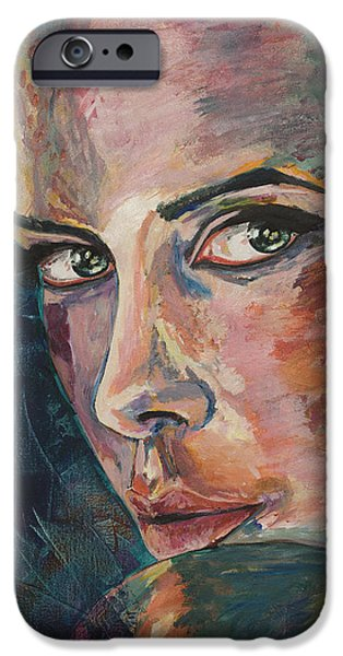Seductive iPhone Cases - Enchantress of Florence iPhone Case by Christel  Roelandt