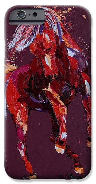 Abstract Movement iPhone Cases - Enchantress iPhone Case by Penny Warden