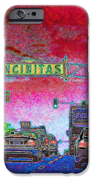 Encinitas California 5D24221 iPhone Case by Wingsdomain Art and Photography