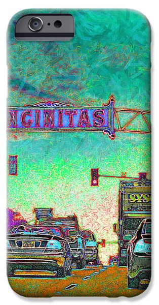 Encinitas California 5D24221p180 iPhone Case by Wingsdomain Art and Photography