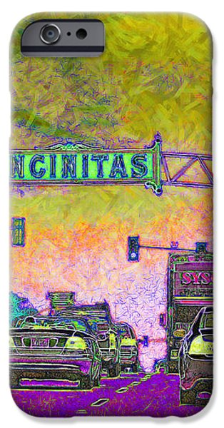 Encinitas California 5D24221p68 iPhone Case by Wingsdomain Art and Photography
