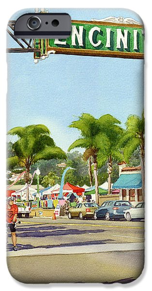 Encinitas California iPhone Case by Mary Helmreich