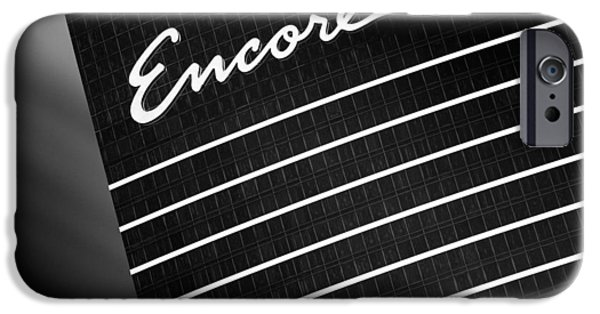 Dave iPhone Cases - Encore iPhone Case by Dave Bowman