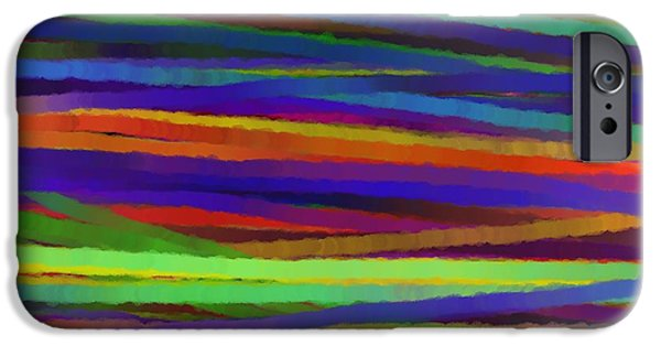 Abstract Digital Drawings iPhone Cases - Encore Que iPhone Case by Sir Josef  Putsche Social Critic