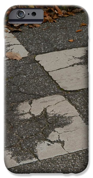 Asphalt iPhone Cases - End Of Game iPhone Case by Odd Jeppesen