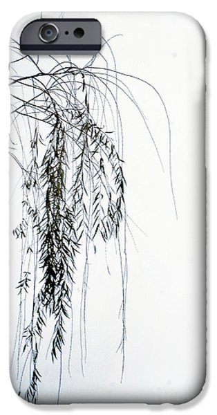 Willow Lake iPhone Cases - End Of Season iPhone Case by Skip Willits