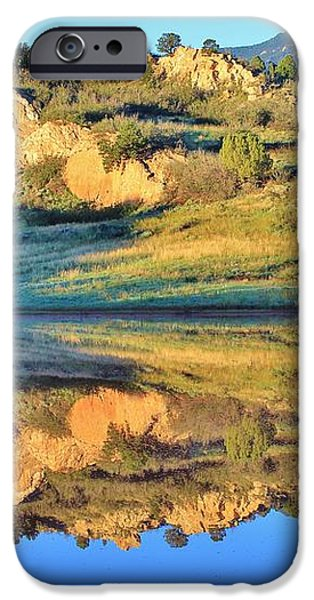 End of Summer Reflections 2 iPhone Case by Diane Alexander