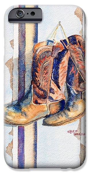 Chip iPhone Cases - End of the Day iPhone Case by Deb  Harclerode
