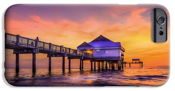 Gulf Of Mexico iPhone Cases - End of the Day iPhone Case by Marvin Spates