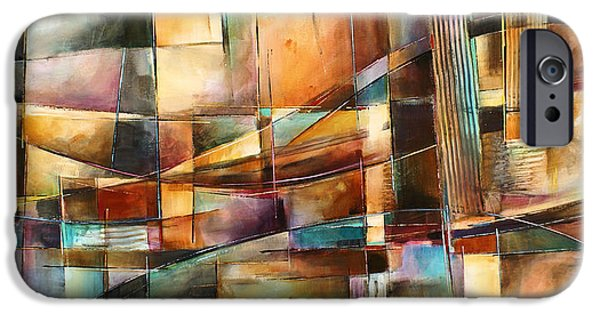 Geometric Design iPhone Cases - Endless Shift iPhone Case by Michael Lang