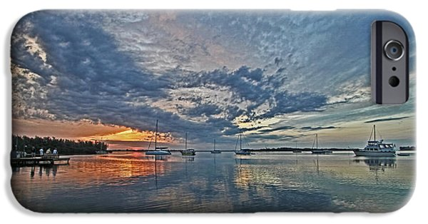 Sailboats iPhone Cases - Endless Sky iPhone Case by HH Photography of Florida