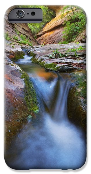 Oak Creek Canyon iPhone Cases - Energy iPhone Case by Peter Coskun