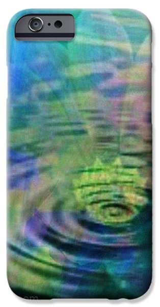 Energy Ripples iPhone Case by PainterArtist FIN