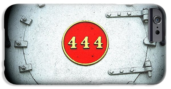 444 iPhone Cases - Engine 444 iPhone Case by Kim Pate
