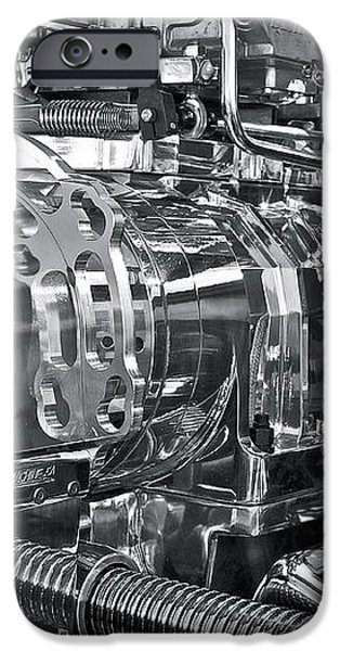 Engine Envy iPhone Case by Linda Bianic