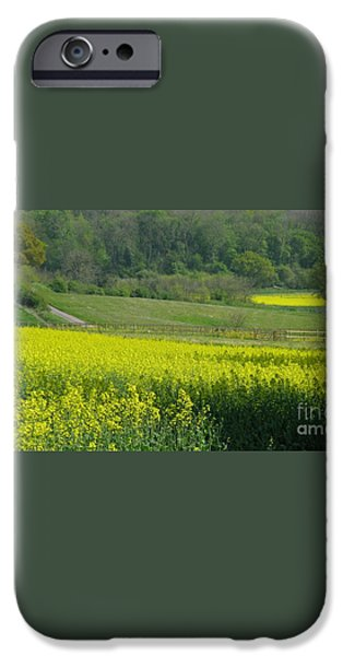 English Countryside iPhone Case by Ann Horn