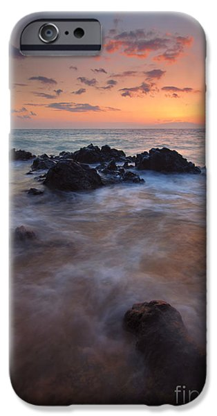 Engulfing iPhone Cases - Engulfed by the Waves iPhone Case by Mike  Dawson