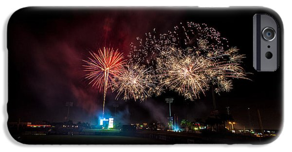 Fireworks iPhone Cases - Enjoy the Show iPhone Case by Jeff Donald