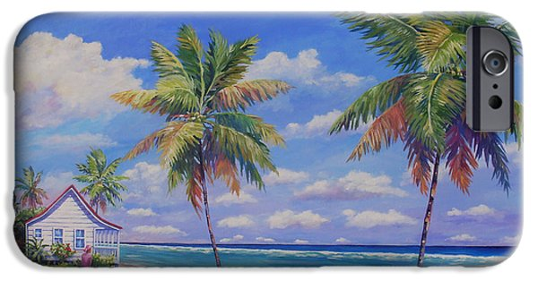 Puerto Rico iPhone Cases - Enjoying the Moment iPhone Case by John Clark