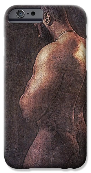 Muscular Digital iPhone Cases - Enlightenment 19 iPhone Case by Chris  Lopez