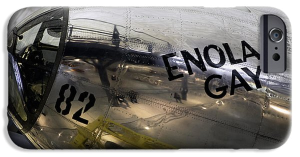 Smithsonian iPhone Cases - Enola Gay iPhone Case by Jerry Fornarotto