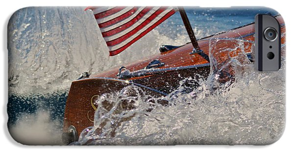 Old Glory iPhone Cases - Tahoe Stars and Stripes iPhone Case by Steven Lapkin