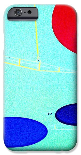 enter here iPhone Case by Jacqueline McReynolds