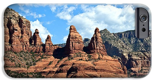 Oak Creek iPhone Cases - Entering Sedona iPhone Case by Lee Craig